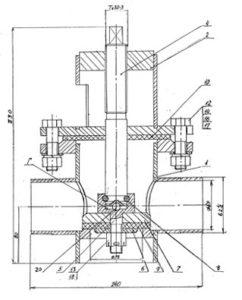 гидрант Дорошевского схема 2