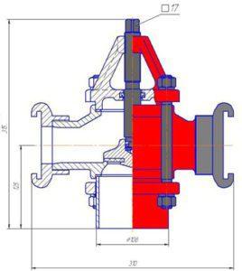 гидрант Дорошевского схема 1